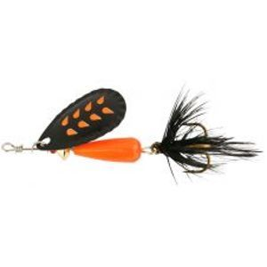 Abu Garcia blyskáč droppen fluo or b black feather-8 g