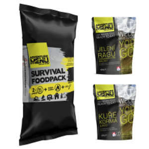 Adventure Menu Survival Food Pack Menu 4