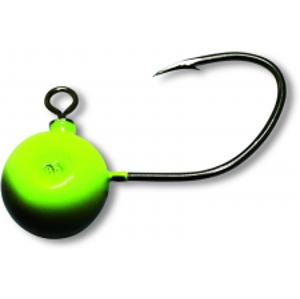 Black Cat Jiggová Hlavička Fireball Zelená 7/0 2 ks-60 g