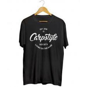 Carpstyle Tričko T Shirt 2018 Black-Veľkosť XXXL