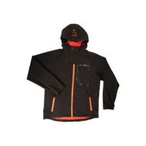 Fox Bunda Softshell Jacket Black/Orange-Veľkosť XXXL