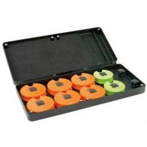 Fox Púzdro Na Náväzce Medium Disc Rig Box Sys Inc Pins Disc