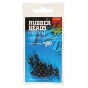 Giants Fishing Gumové Guličky Rubber Beads Transparent Green -3 mm