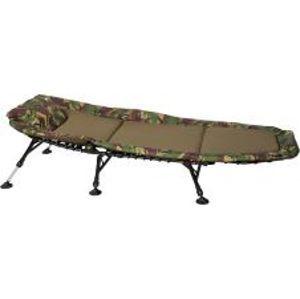 Giants Fishing Lehátko Bedchair Fleece Camo 6Leg