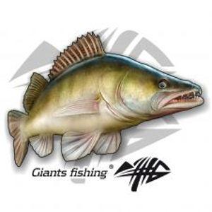 Giants Fishing Nálepka Veľká Zubáč