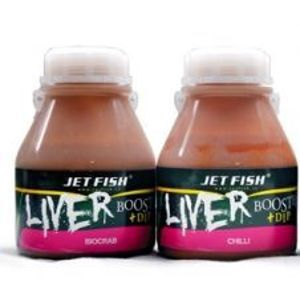 Jet Fish liver booster + dip 250 ml-Oliheň-Scopex