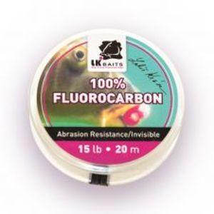 LK Baits 100% Fluorocarbon 20 m-Nosnosť 20 lb