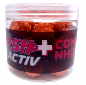 LK Baits Boilie Fish Activ Plus 200 ml-compot nhdc