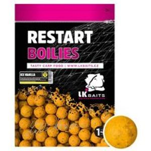 LK Baits Boilie ReStart ICE Vanille-250 g 18 mm