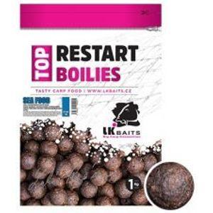 LK Baits Boilie Top ReStart Sea Food-1 kg 14 mm