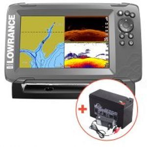 Lowrance Hook² 7 So Sondou Splitshot