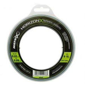 Matrix Šokový Vlasec Horizon X Tapered Leaders-Priemer 0,22-0,28 mm / Nosnosť 3,6-5,4 kg