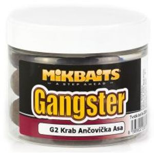 Mikbaits Boilies Gangster Extra Hard G2 Krab Ančovička Asa 300 ml-30 mm