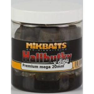 Mikbaits Chytacie Halibutky v dipe 20mm 250ml-Red Fish
