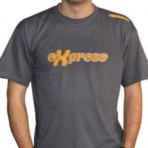Mikbaits Pánské tričko Express - šedé -Veľkosť L