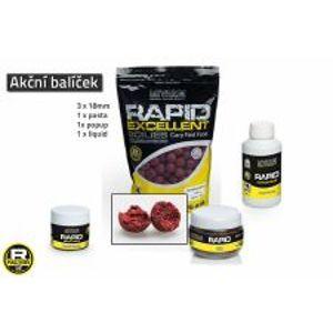Mivardi Akčný balíček boilie a doplnkov Rapid - Cherry