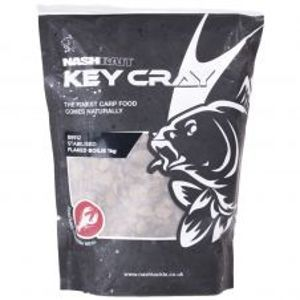 Nash Drvené Boilies Key Cray Stabilised Flake 1kg