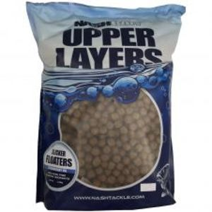 Nash Plávajúce Pelety Slicker Floaters Pure Crustacean 11mm + Hookbaits 1,4 kg