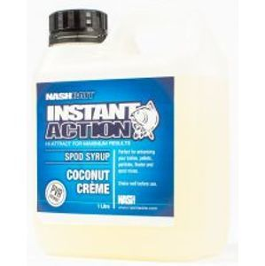 Nash Syrup Instant Action Spod Syrups Coconut Creme 1 l