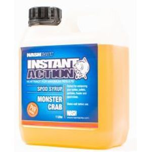 Nash Syrup Instant Action Spod Syrups Monster Crab 1 l
