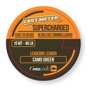 Prologic Olovená šnúrka Supercharged Leadcore Leader Camo Green 10 m-nosnosť 50 lb