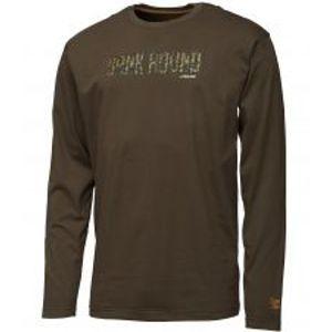 Prologic Tričko Bank Bound Camo T-shirt Long Sleeve-Veľkosť XXL