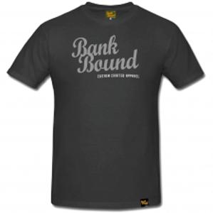 Prologic Tričko Bank Bound Custom Dark Grey Tee-Veľkosť M
