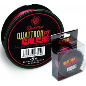 Quantum Vlasec Quattron Salsa Červená 275 m-Priemer 0,22 mm / Nosnosť 4,5 kg