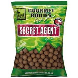 Rod Hutchinson Boilies Secret Agent With Liver Liquid-1 kg 15 mm