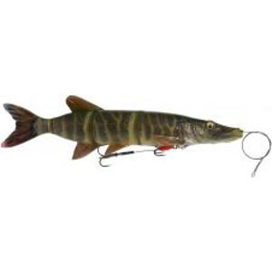 Savage Gear Gumová Nástraha 4D Line Thru Pike Striped Pike-25 cm 110 g