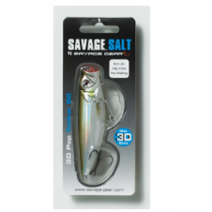 Savage Gear Wobler 3D Minnow Pop Walker Ayu-6,6 cm 8 g