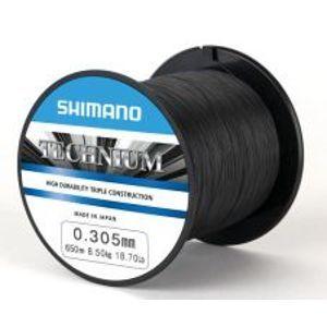 Shimano Vlasec Technium PB Čierny-Priemer 0,355 mm / Nosnosť 11,50 kg / Návin 790 m