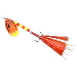 Spro Blyskáč Supercharged Weighted Spinners Orange-18 cm 19 g