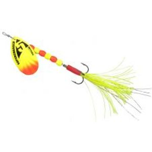 Spro Blyskáč Supercharged Weighted Spinners Yellow-16 cm 14 g